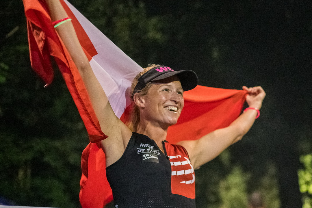 A new world record - Eva Hürlimann at the Swissultra Double Deca Day 2019