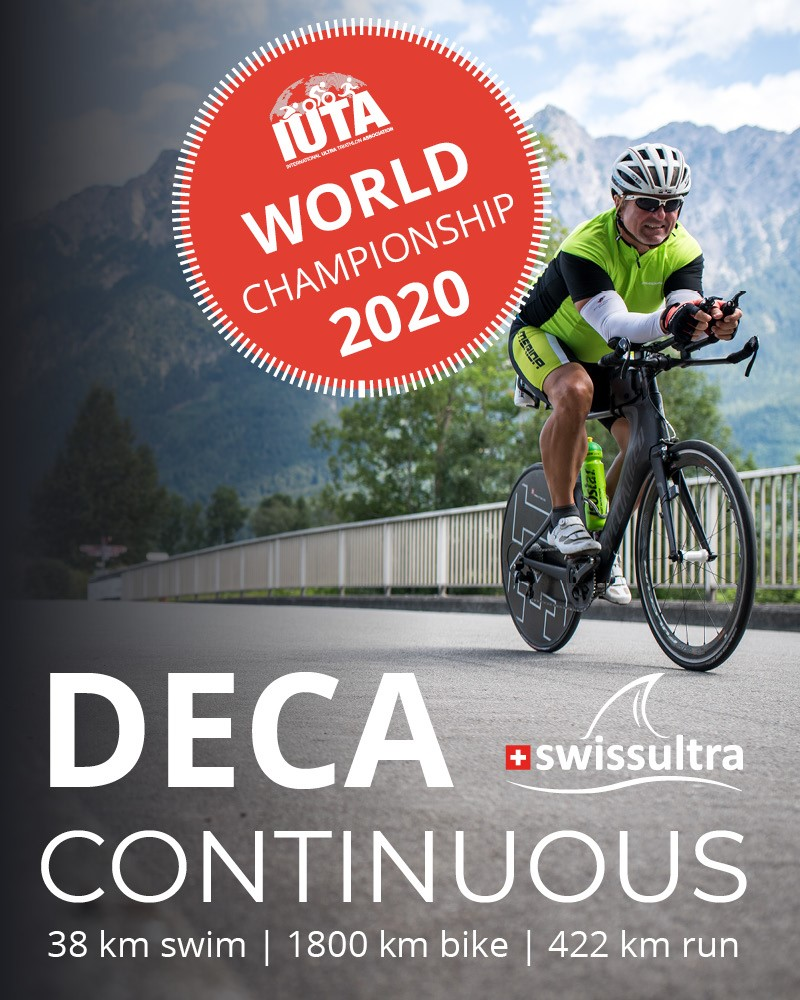 IUTA Deca Continuous World Championship 2020 in Buchs/Switzerland!